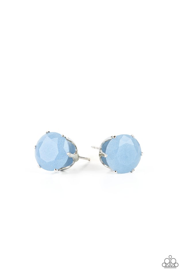 Simply Serendipity - Blue - Paparazzi Earring Image