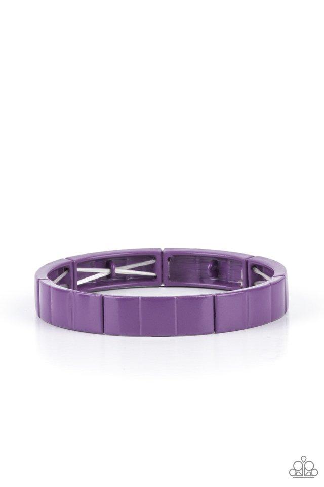 Material Movement - Purple - Paparazzi Bracelet Image