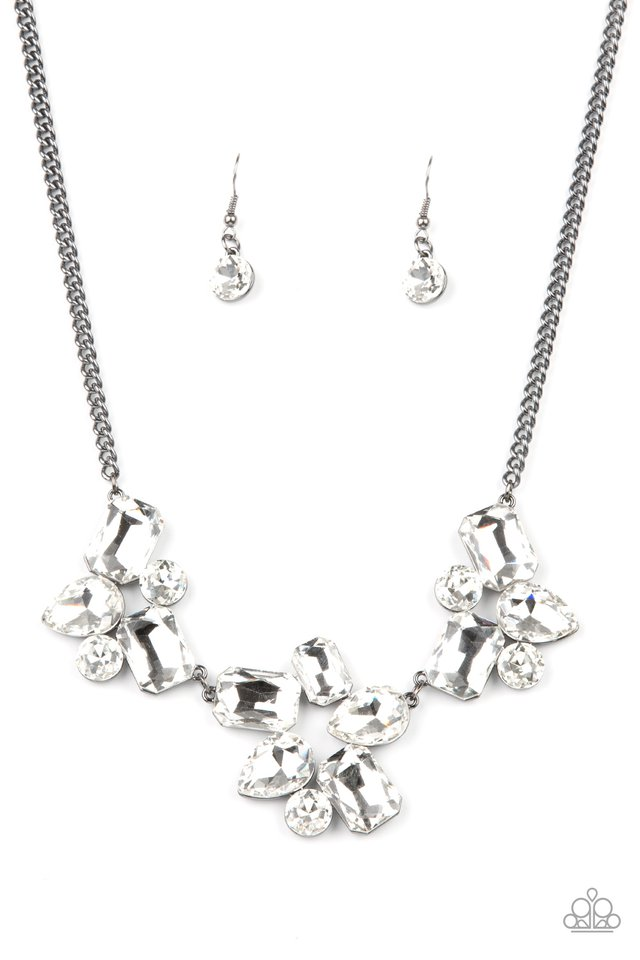Galactic Goddess - Black - Paparazzi Necklace Image