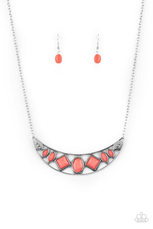 Emblazoned Era - Pink - Paparazzi Necklace Image