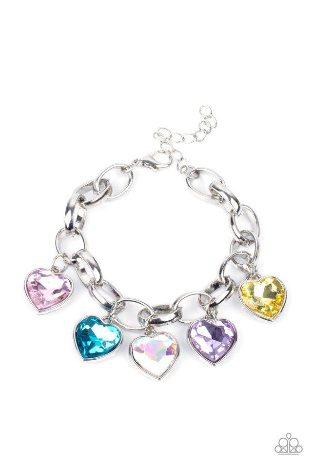 Candy Heart Charmer - Multi - Paparazzi Bracelet Image