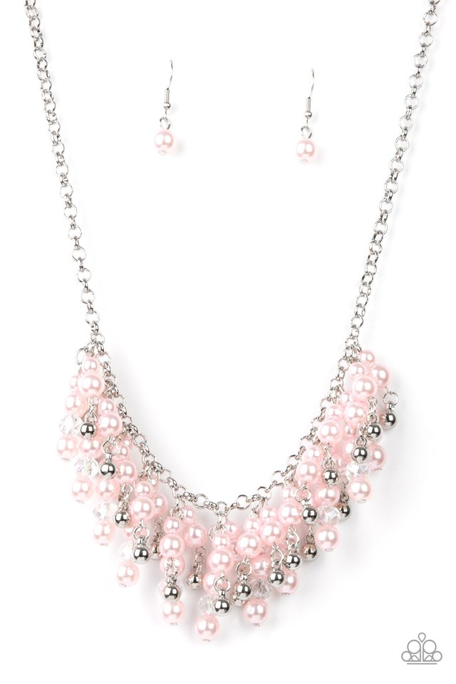 Champagne Dreams - Pink - Paparazzi Necklace Image
