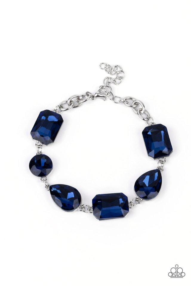 Cosmic Treasure Chest - Blue - Paparazzi Bracelet Image