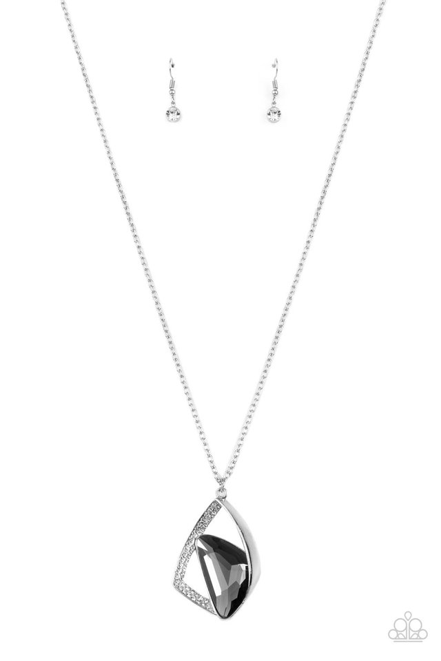 Galactic Wonder - Silver - Paparazzi Necklace Image