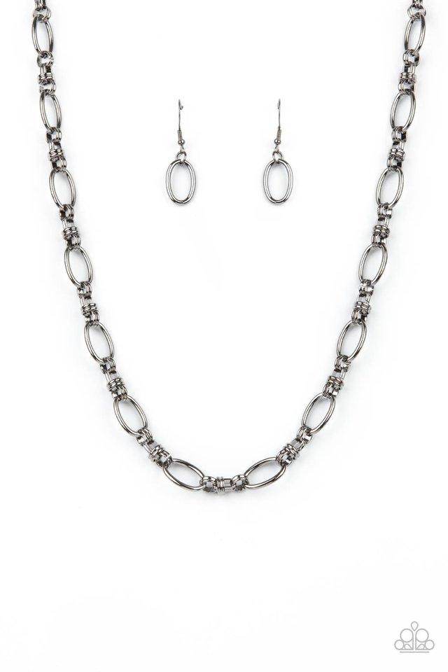 Defined Drama - Black - Paparazzi Necklace Image