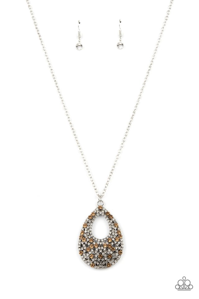 High Society Stargazing - Brown - Paparazzi Necklace Image