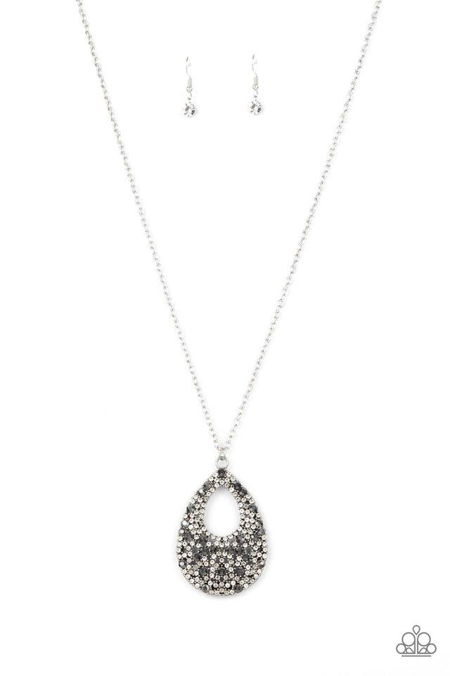 High Society Stargazing - Silver - Paparazzi Necklace Image