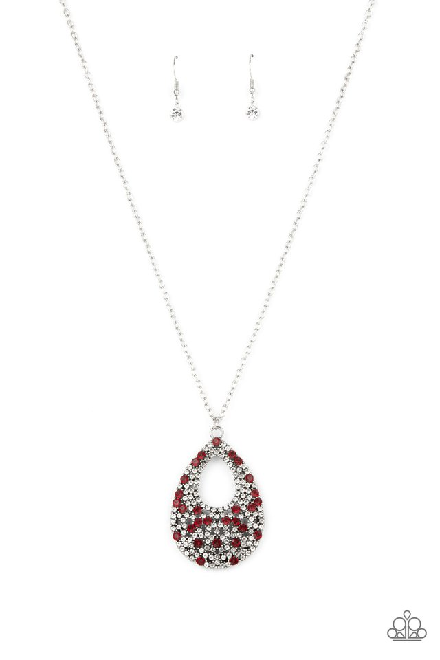 High Society Stargazing - Red - Paparazzi Necklace Image
