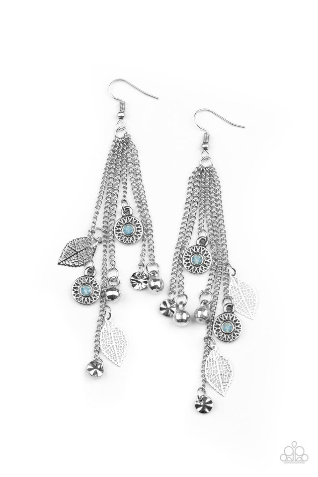 A Natural Charmer - Blue - Paparazzi Earring Image