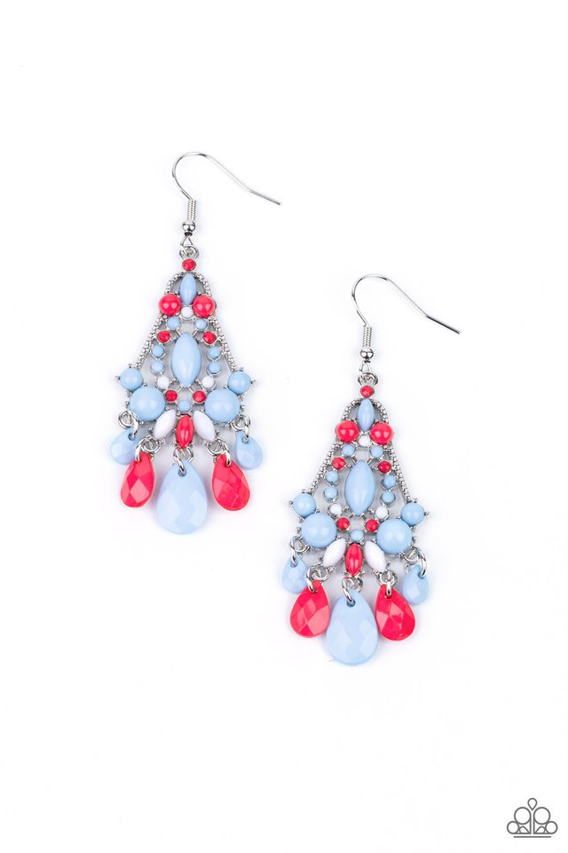 STAYCATION Home - Multi - Paparazzi Earring Image