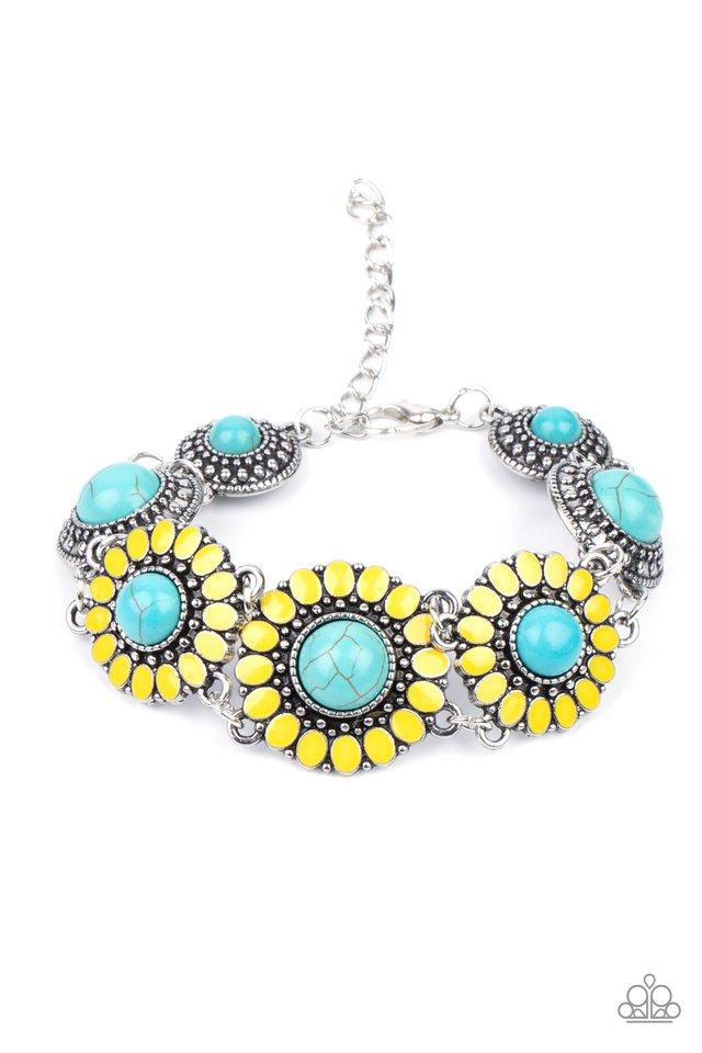 Bodaciously Badlands - Yellow - Paparazzi Bracelet Image