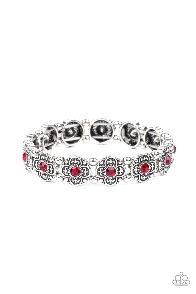 Trés Magnifique - Red - Paparazzi Bracelet Image