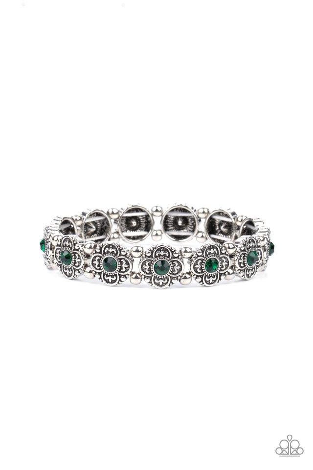 Trés Magnifique - Green - Paparazzi Bracelet Image