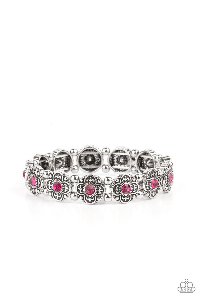 Trés Magnifique - Pink - Paparazzi Bracelet Image