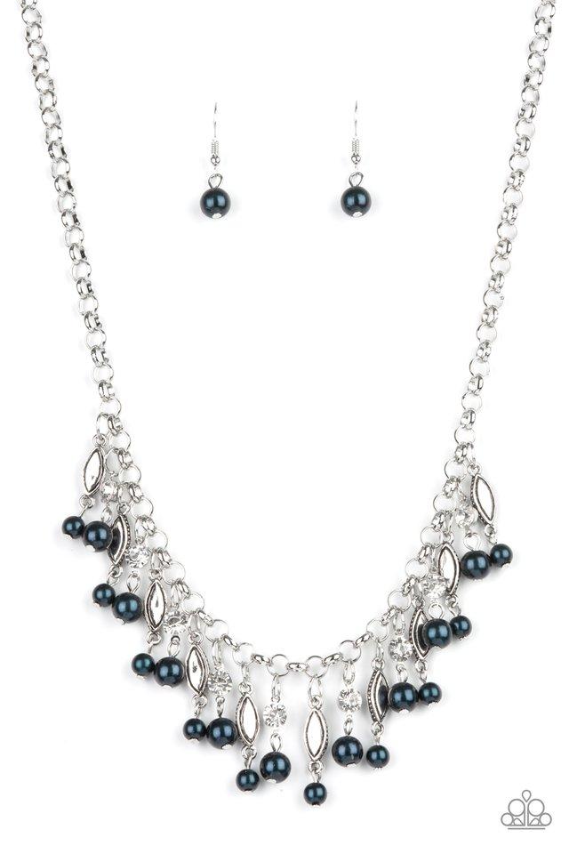 Cosmopolitan Couture - Blue - Paparazzi Necklace Image