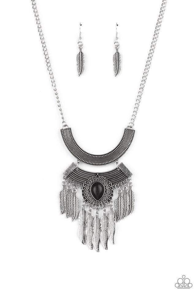 Desert Devotion - Black - Paparazzi Necklace Image