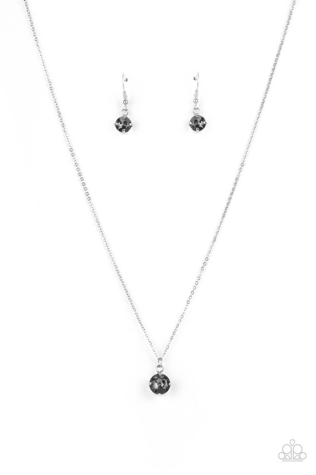 Undeniably Demure - Silver - Paparazzi Necklace Image