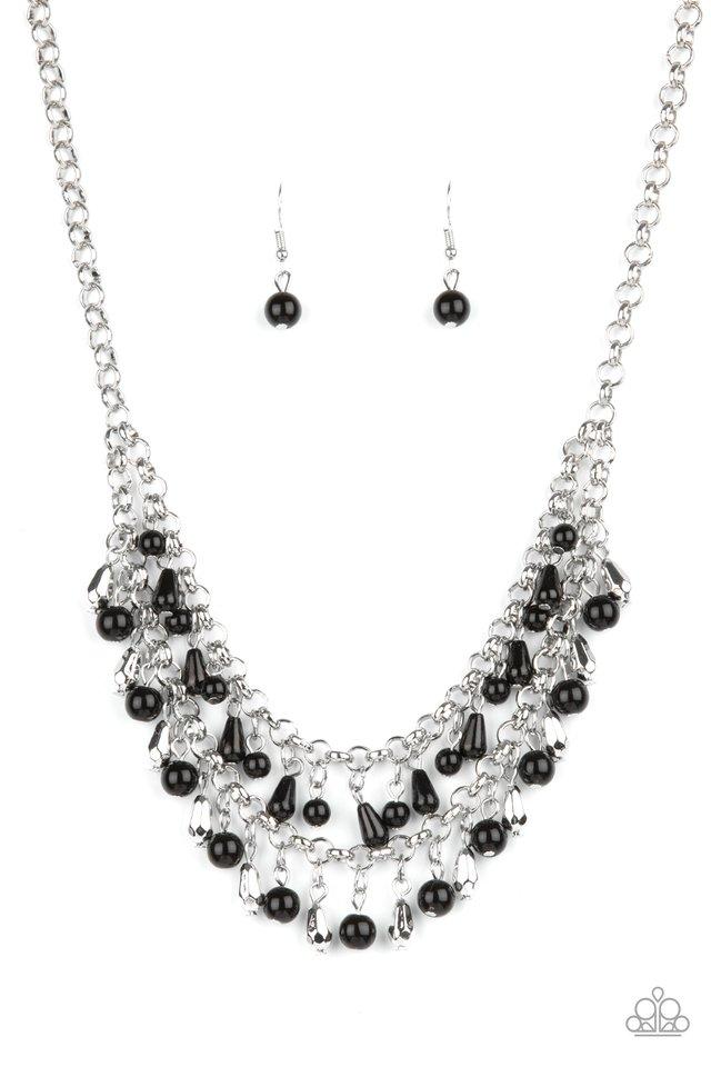 Big Money - Black - Paparazzi Necklace Image