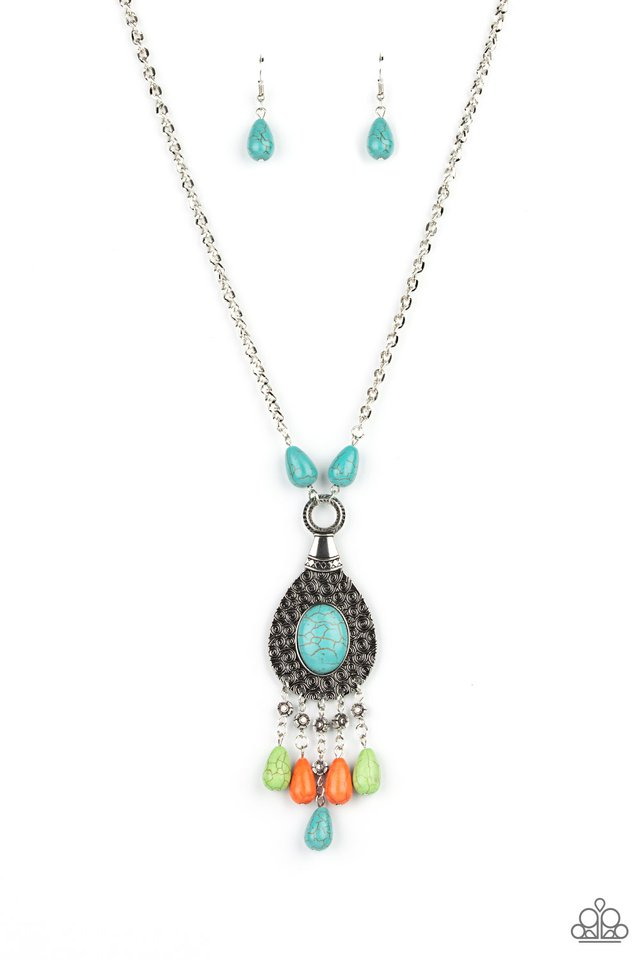 Cowgirl Couture - Multi - Paparazzi Necklace Image