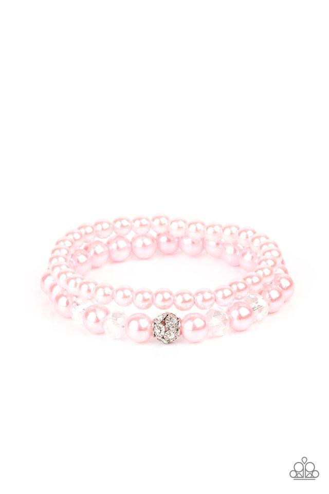 Cotton Candy Dreams - Pink - Paparazzi Bracelet Image