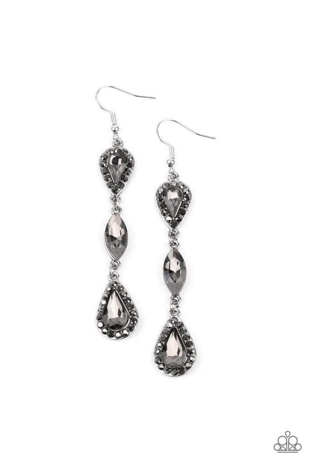 Test of TIMELESS - Silver - Paparazzi Earring Image