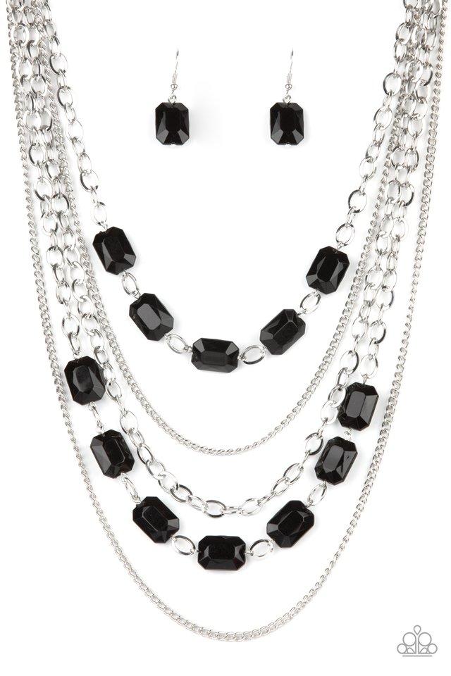 Standout Strands - Black - Paparazzi Necklace Image