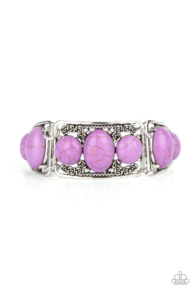 Southern Splendor - Purple - Paparazzi Bracelet Image