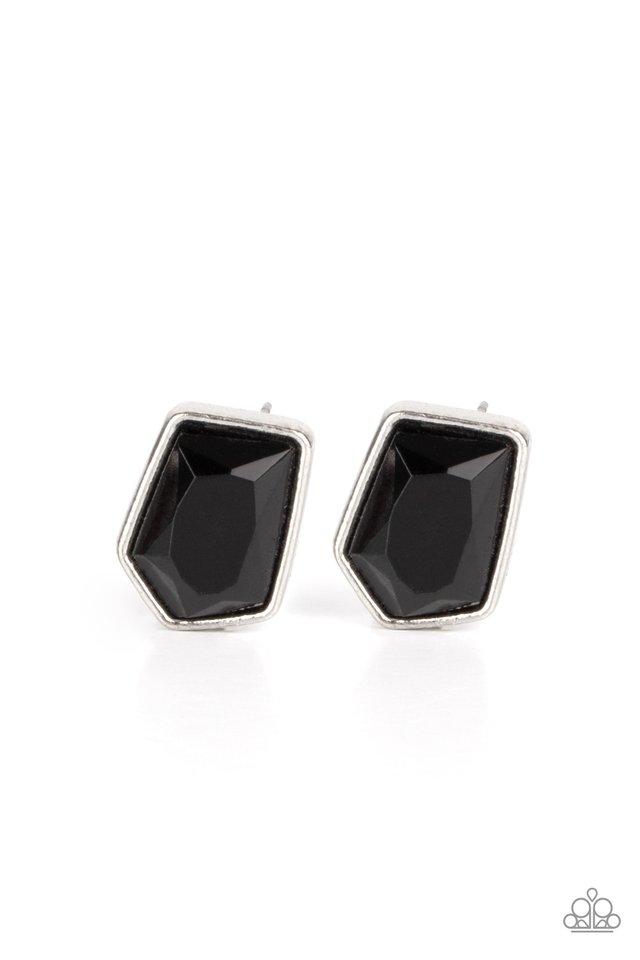 Indulge Me - Black - Paparazzi Earring Image