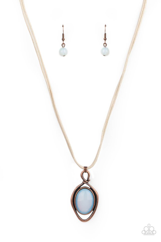 Desert Mystery - Copper - Paparazzi Necklace Image
