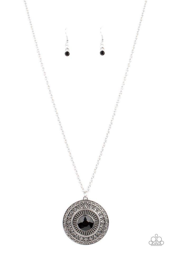 Aztec Apex - Black - Paparazzi Necklace Image
