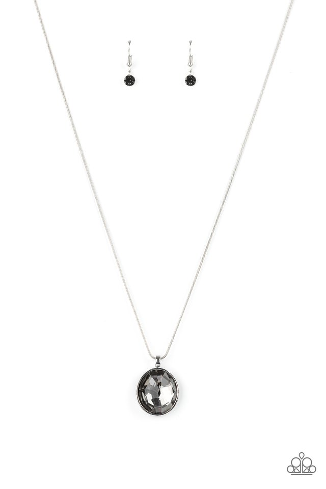 Instant Icon - Silver - Paparazzi Necklace Image