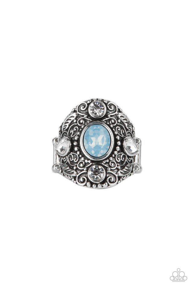 In The Limelight - Blue - Paparazzi Ring Image
