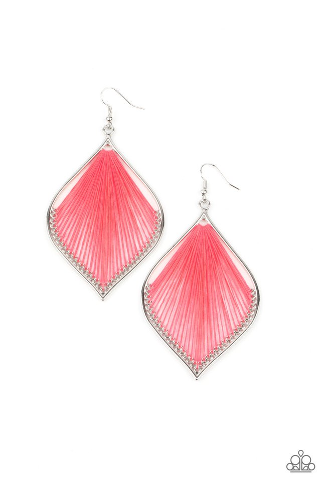 String Theory - Pink - Paparazzi Earring Image