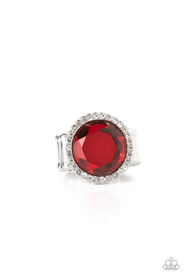 Crown Culture - Red - Paparazzi Ring Image