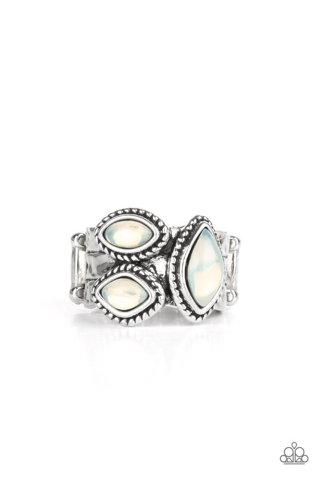 The Charisma Collector - White - Paparazzi Ring Image