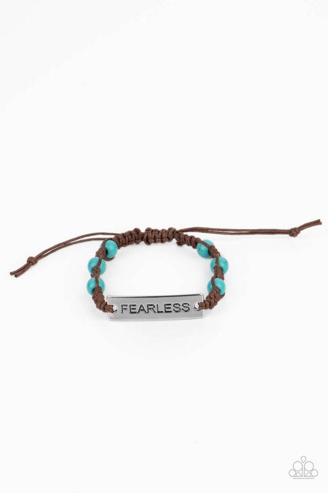 Conversation Piece - Blue - Paparazzi Bracelet Image