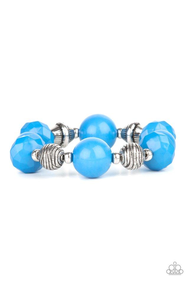 Day Trip Discovery - Blue - Paparazzi Bracelet Image