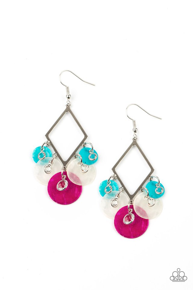 Pomp And Circumstance - Multi - Paparazzi Earring Image