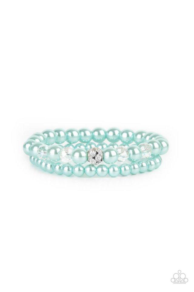 Cotton Candy Dreams - Blue - Paparazzi Bracelet Image