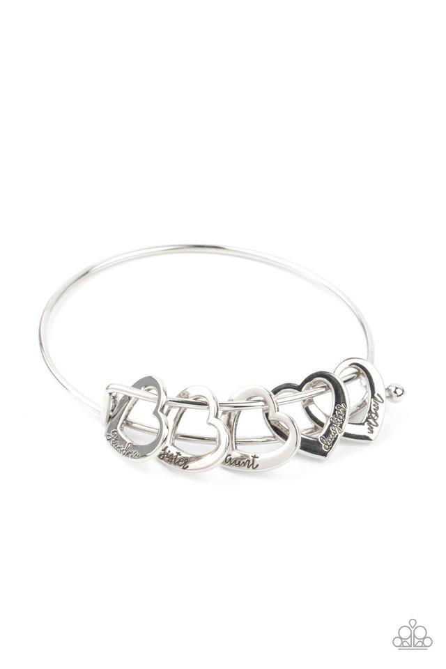 A Charmed Society - Silver - Paparazzi Bracelet Image