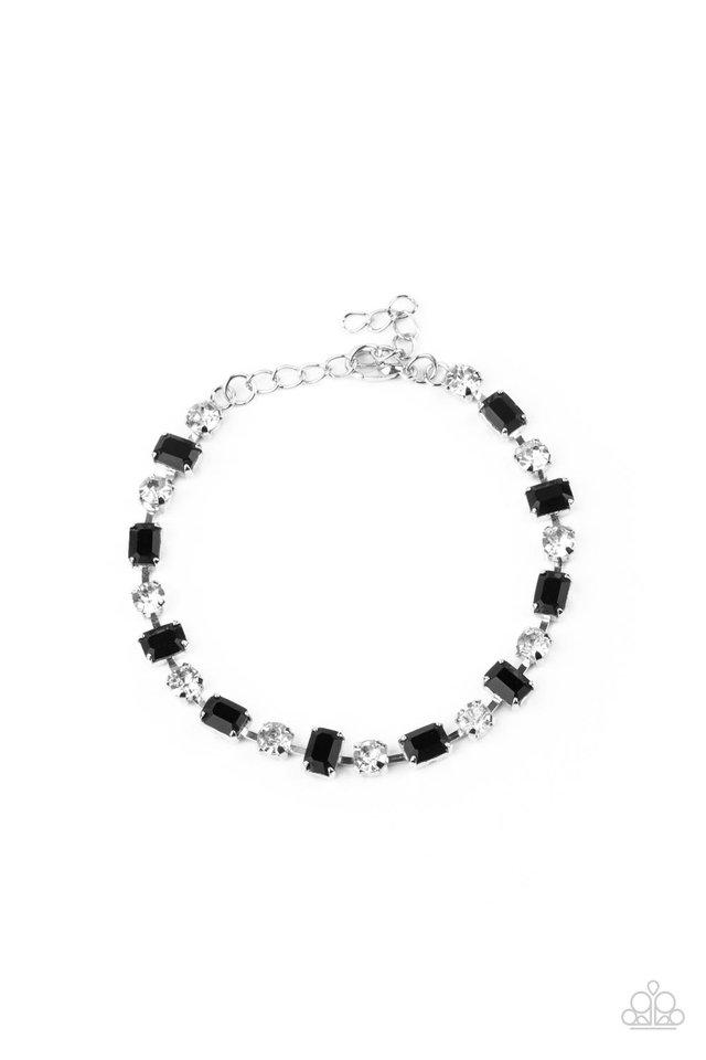 Out In Full FIERCE - Black - Paparazzi Bracelet Image