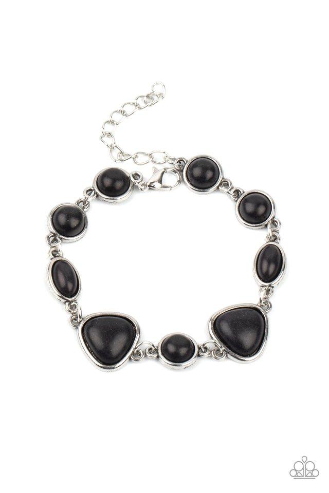 Eco-Friendly Fashionista - Black - Paparazzi Bracelet Image