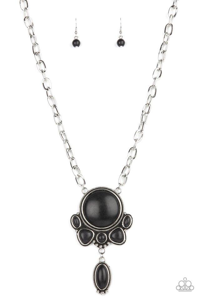 Geographically Gorgeous - Black - Paparazzi Necklace Image