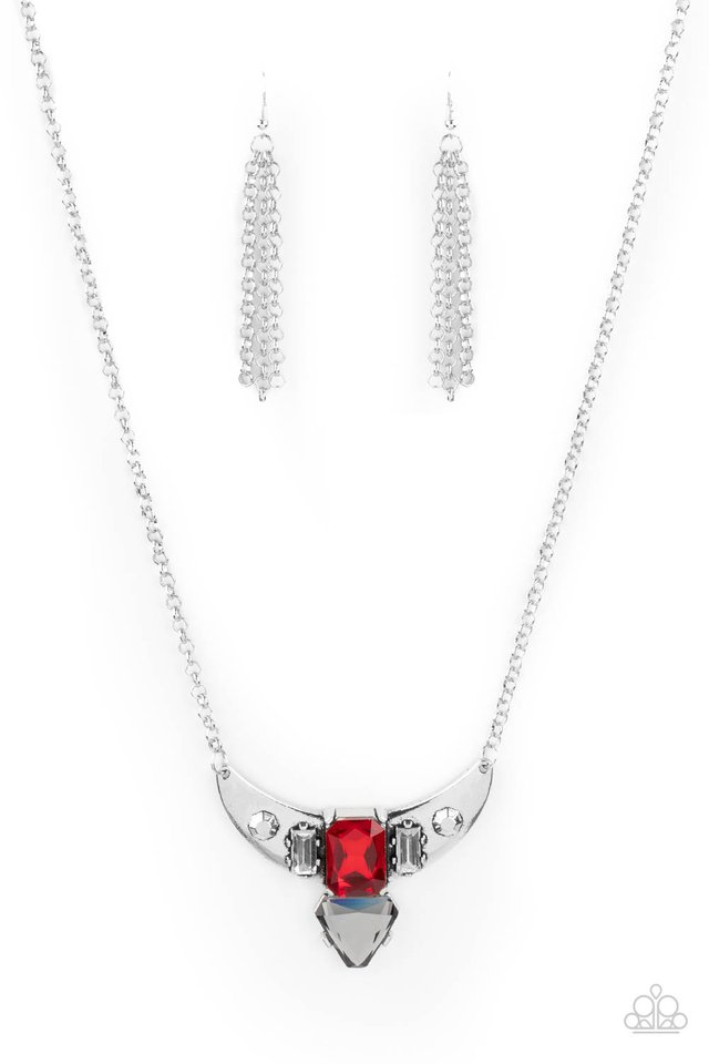 You the TALISMAN! - Red - Paparazzi Necklace Image