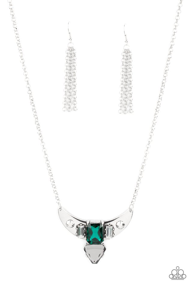 You the TALISMAN! - Green - Paparazzi Necklace Image