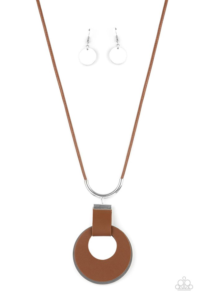 Luxe Crush - Brown - Paparazzi Necklace Image