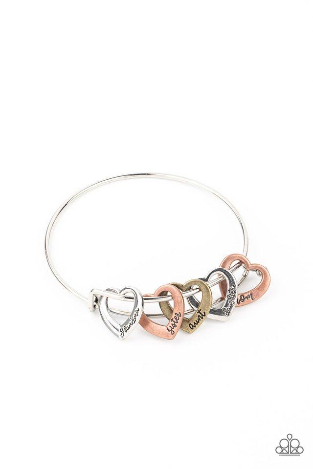 A Charmed Society - Multi - Paparazzi Bracelet Image