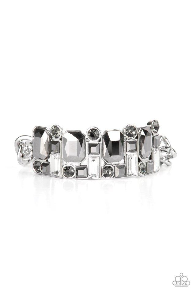 Urban Crest - Silver - Paparazzi Bracelet Image