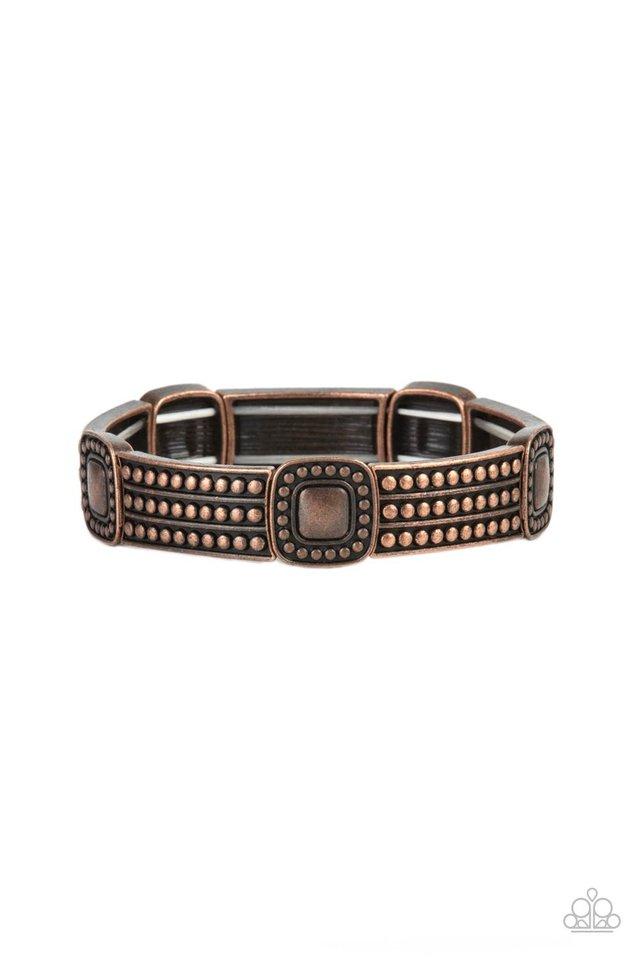 Rustic Redux - Copper - Paparazzi Bracelet Image
