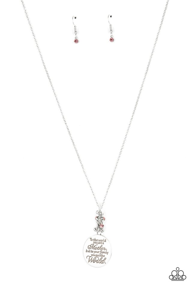 Maternal Blessings - Pink - Paparazzi Necklace Image